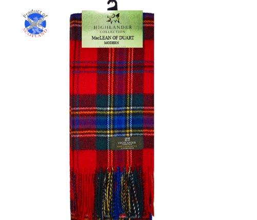 maclean-of-duart-tartan-echarpe-en-laine-dagneau