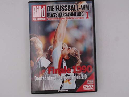 Fussball WM Klassiker DVD 1 Finale Rom 1990 Deutschland - Argentinien 1:0 FIFA Weltmeisterschaft Deutsche Nationalmannschaft DFB Spiel in voller Länge auf DVD (inkl. Magazin in Folie) (Wm-video-spiel)