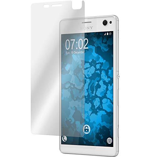 PhoneNatic 6er-Pack Bildschirmschutzfolien klar kompatibel mit Sony Xperia C4 / Dual