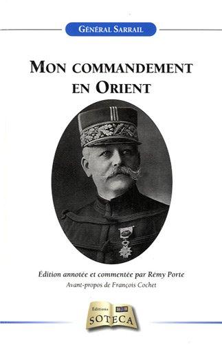 Mon commandement en Orient par Général Sarrail