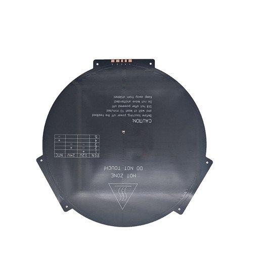 3D Drucker Delta rostock / rundes warmes Bett / MK3 Heizung Bettdurchmesser 265mm * 3MM Rostock Delta