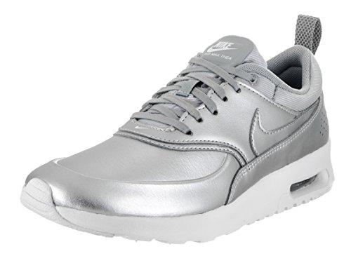 Nike Damen 861674-001 Turnschuhe Silber