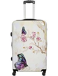 Koffer Butterfly Schmetterling Größe L Polycarbonat Hartschale Reisekoffer Trolley Case Bowatex