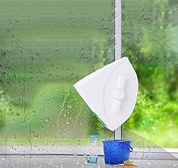 LZH FILTER Magnetisch Scheibenwischer Glasreiniger, Doppelseitig Magnetisch Bürste, Fenster Glaspinsel-Werkzeug, zum Waschen Glaspinsel Reinigungswerkzeug (30-40 MM)