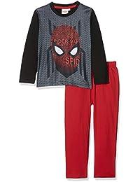 FABTASTICS Spiderman, Ensemble de Pyjama Garçon