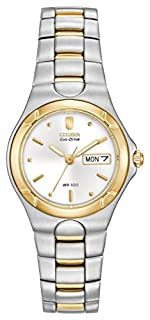 Citizen Women's Corso Eco-Drive Watch #EW3034-59A (B0007IR4UE) | Amazon price tracker / tracking, Amazon price history charts, Amazon price watches, Amazon price drop alerts