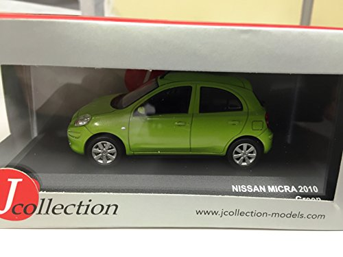 nissan-micra-2010-green143-j-collection-voiture-diecast-jcl201