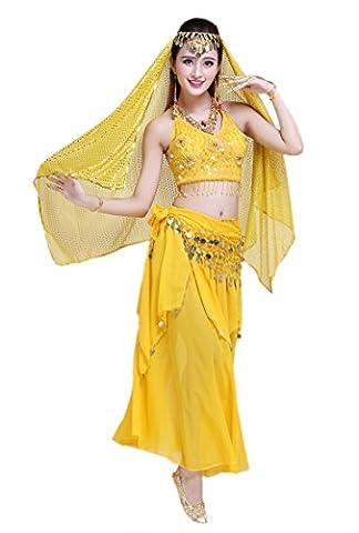 Honeystore 2016 Neuheiten Damen Indien Belly Dance Latein Dance 7PC