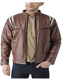 Teesort Men's Jacket (JKTFROSTY-E-M_Coffee_Medium)