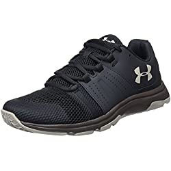 Under Armour UA Raid TR, Zapatillas de Deporte para Hombre, Negro (Anthracite/Mink Ghost Gray 104), 42 EU