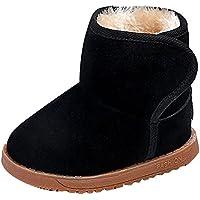 Winter Kinderschuhe Babyschuhe - Juleya Winter Stiefel mit Warm Gefüttert  Schneestiefel Kleinkindschuhe Fell Boots 0f28e07a86