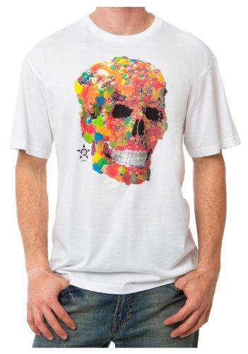 Unit T-Shirt Sweet Tooth Weiß Weiß