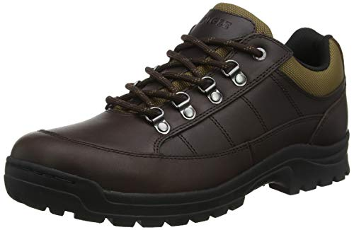 Aigle Herren Alten Leather Sneaker, Braun (Brown 001), 46 EU
