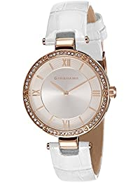 Giordano Analog Silver Dial Women's Watch - A2039-04