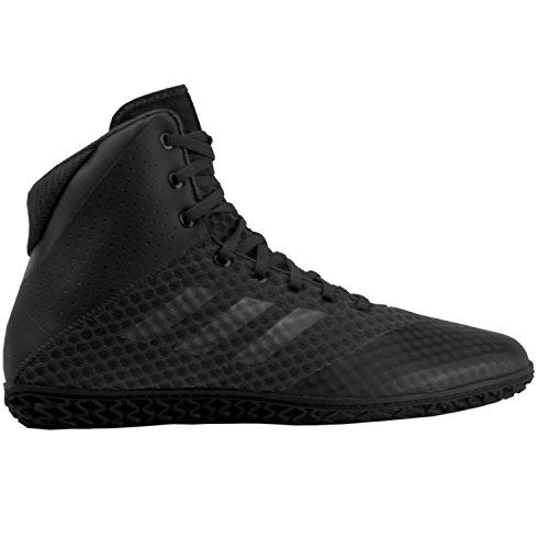 Adidas Tapis Wizard 4 Wrestling Chaussures - Noir - Charbon, 45 EU (M)