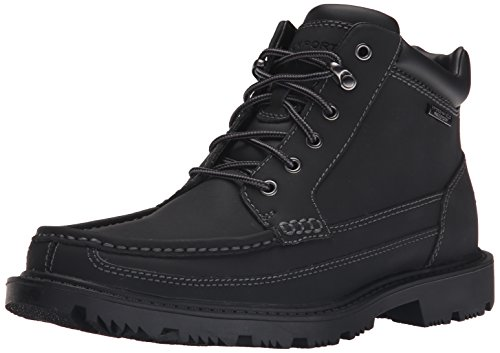 Waterproof Moc (Rockport Men's Redemption Road Waterproof Moc-Toe Boot)