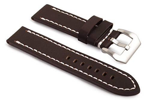 watchassassin-genuine-leather-brown-watch-strap-white-stitch-incl-buckle-26mm