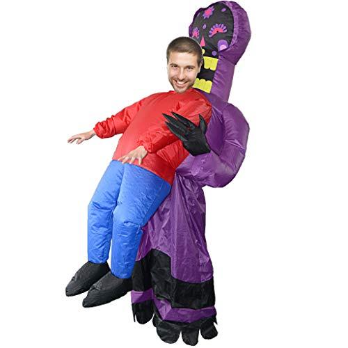 Detrade Party Overall Kostüme Aufblasbare Karneval Lustige Kleidung Cosplay Aufblasbar Spielzeug Für Bars, Clubs, Partys, Parks, Fernsehprogramme, Supermärkte, Eröffnungsfeiern (A) (Puppenhaus Kostüm)