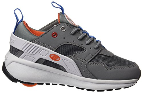 Heelys Force, Sneaker a Collo Alto Bambino Grigio (Grey / White / Orange)