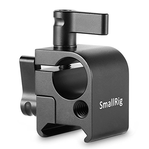 SMALLRIG SWAT NATO Rail Clamp mit 15mm Rod Clamp(Parallel) für Monitor Mount, EVF Mount, LCD Light - 1254 (15 Clamp Mm Rod)