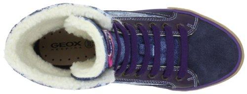 Geox JR WITTY Mädchen Halbschuhe Blau (DK NAVY C4021)