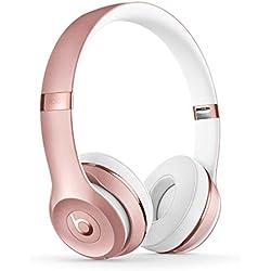 Beats Solo3 Wireless - Auriculares Supraaural, Oro/Rosa