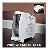 Best Home Fans - Daewoo Portable Flat / Upright 2000W Electric Fan Review