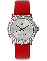 Fastrack Analog Silver Dial Women's Watch-NK9827PP08