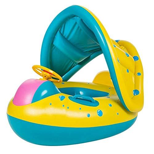 Empty Anillo de natación Inflable para bebés vacíos Piscina de Verano para niños Swan Swim Float...