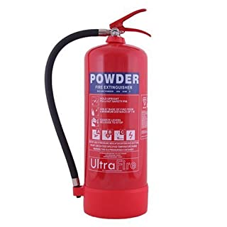 9kg Powder Fire Extinguisher - UK Manufacture & 5 Year Warranty