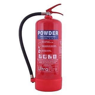 9kg Powder Fire Extinguisher - UK Manufacture & 5 Year Warranty