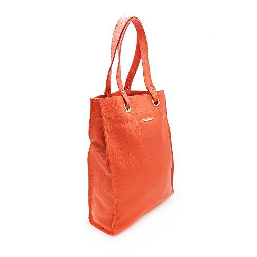 Zerimar Borse a mano da donna | 100% pelle alta qualità | Borsa della Signora | Borsa a mano | Borsa Grande | Borsa Piccola | Scomparti multipli Arancione