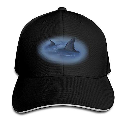 Men's Athletic Baseball Fitted Cap Hat World Oceans Day Sharks Durable Baseball Cap Hats Adjustable Peaked Trucker Cap 255 - World Baseball Fitted Hat Cap