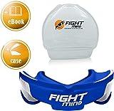 Fight Mind Profi Mundschutz - Sport Zahnschutz | + K.O Schutz + E-Book + max. O₂ + BPA freier Zahnschutz | Boxen, MMA, Krav MAGA