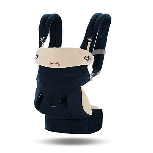 LOVE-BABY Marsupio, Marsupio ergonomico Abbraccio Frontale Sling Neonato Multifunzione Quattro Stagioni Universale,A