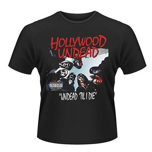 Playlogic International(World) - Hollywood Undead Til I Die, T-shirt da uomo, nero (black), M