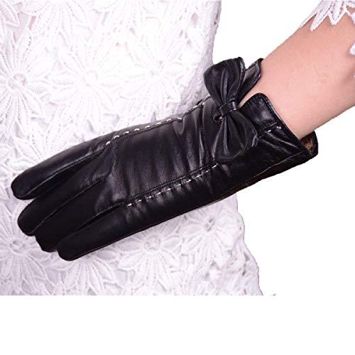 (Neue Damen Lange Fingerlose Handschuhe Blumen Wärmen Parteien Arm Sets Herbst Und Winter Unikat Style Blue Fäustlinge (Color : Schwarz, Size : One Size))