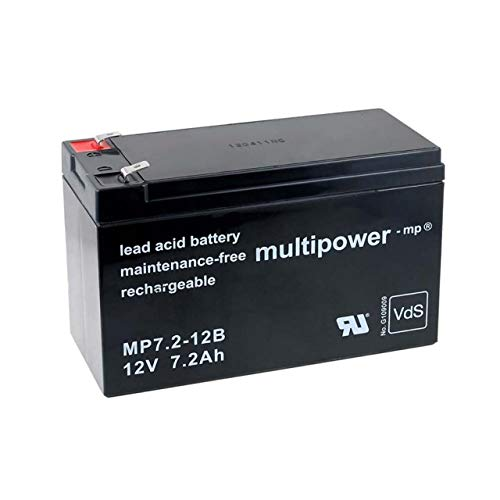 akku-net Ersatzakku für USV APC Back-UPS CS500, 12V, Lead-Acid Eine Usv-batterie