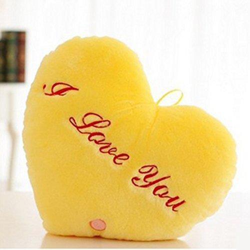 Almohada de juguetes de Navidad, regalo de San Valentín, almohada de luz...