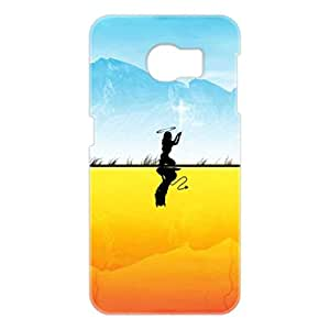 a AND b Designer Printed Mobile Back Cover / Back Case For Samsung Galaxy S6 Edge (SG_S6_3D_2647)