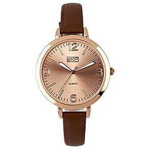 Eton señoras Reloj, Correa de Color marrón–3224j-br