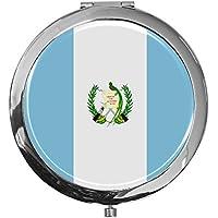 "metALUm - Extragroße Pillendose in runder Form""Flagge Guatemala"" preisvergleich bei billige-tabletten.eu"