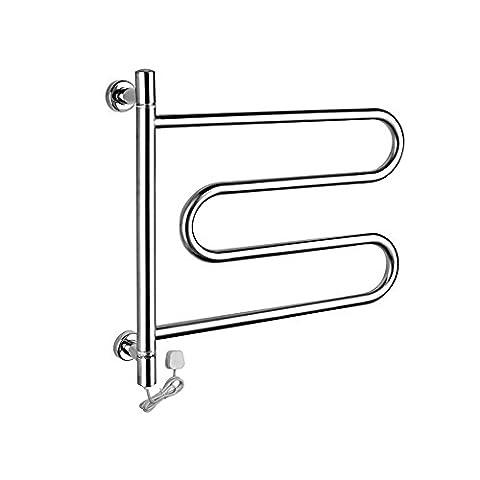 Intelligente Thermostat 304 Edelstahl Handtuchwärmer Wand montiert (Boden Montiert Handtuchwärmer)