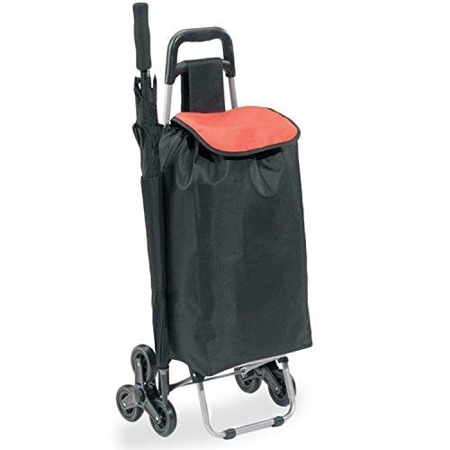 Einkaufstrolley mit Treppensteigerfunktion | Transportwagen | Einkaufsroller | Einkaufswagen