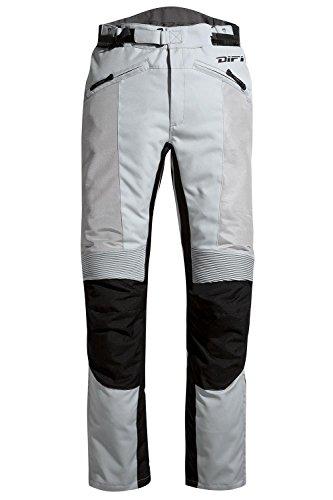 Difi SAN DIEGO LADY Motorradhose Sommer Damen Farbe silbergrau/schwarz, Farbe silbergrau/schwarz, Größe 38