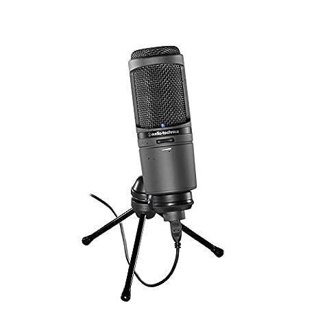 Audio-Technica AT2020USBI iOs Model USB Cardioid Condenser Microphone - Black