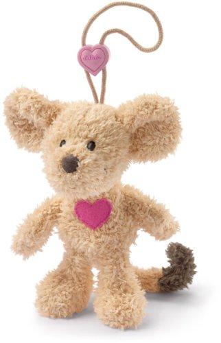 Lillebi 70101 Maus mit Herz Schlüsselwächter 12cm