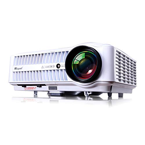 JU FU Projector - Projection Size 40-300 Inches  Screen Size 40-300 Inches  Brightness  lumen  8000-9900  Resolution 1280X800dpi  Wireless With Screen  Keystone Correction  Suitable For Home  Business