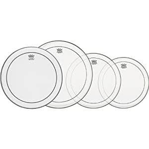 """Remo PP-0110-PS Pinstripe ProPack Tête pour Tambour clair 10"""""""
