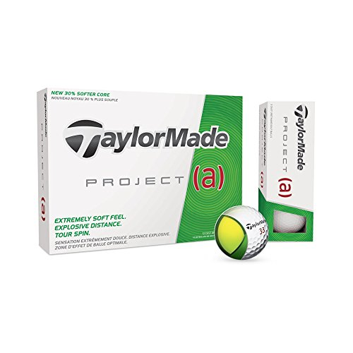 Taylor Made Project (a) Golfball Premium weiß 12er